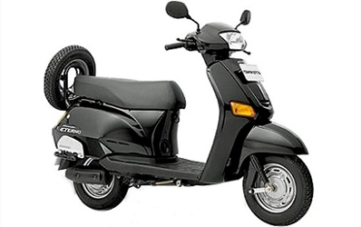 Have most safe and best rides in your low price scooty