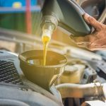 What is four-stroke engine oil?